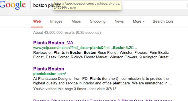 boston plants screen shot
